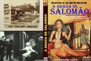 A Adaga Do Rei Salomão - Série Completa  - FILMES RAROS EM DVD