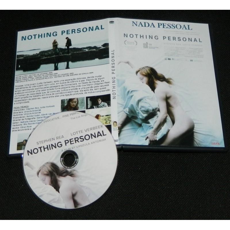Nada Pessoal  - Nothing Personal  - FILMES RAROS EM DVD