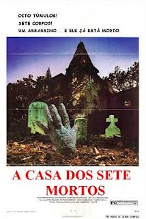 A Casa Dos Sete Mortos (1974) dublado e legendado  - FILMES RAROS EM DVD
