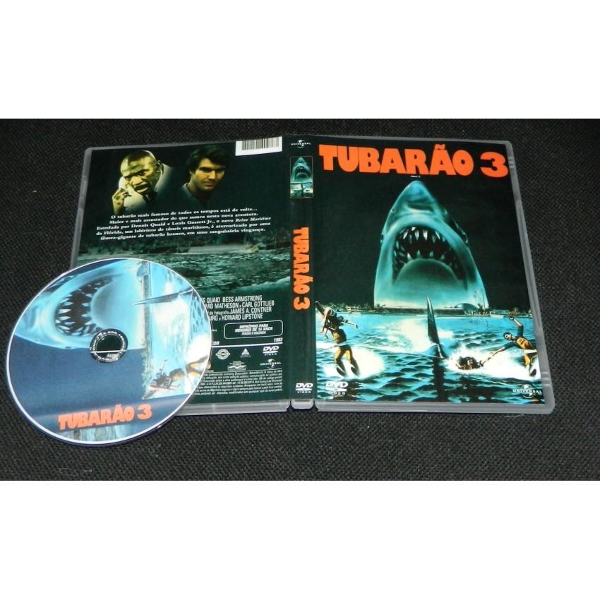 Tubarão 3 - Jaws 3  - FILMES RAROS EM DVD