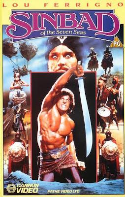SINBAD E OS SETE MARES - 1989  - FILMES RAROS EM DVD