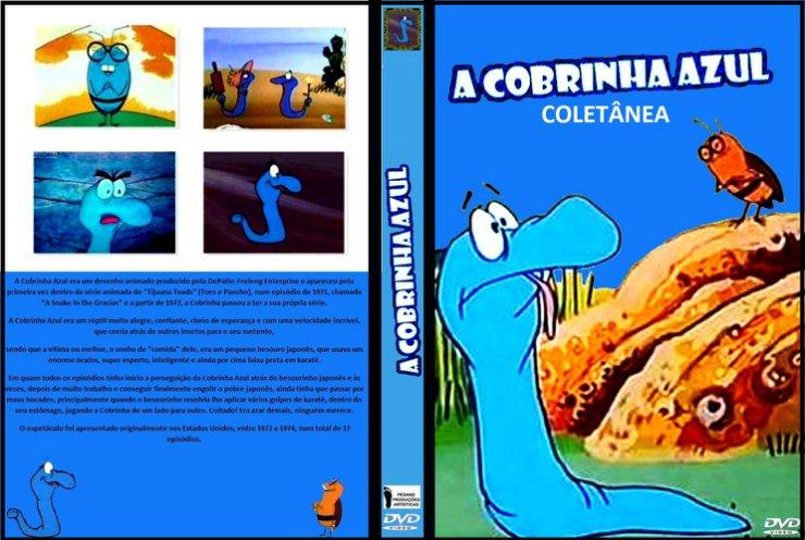 A Cobrinha Azul - Desenho Raro  - FILMES RAROS EM DVD