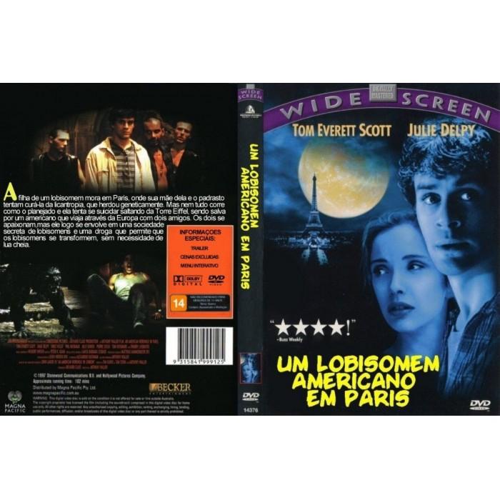 Dvd Um Lobisomem Americano Em Paris 1997 - Dublado  - FILMES RAROS EM DVD
