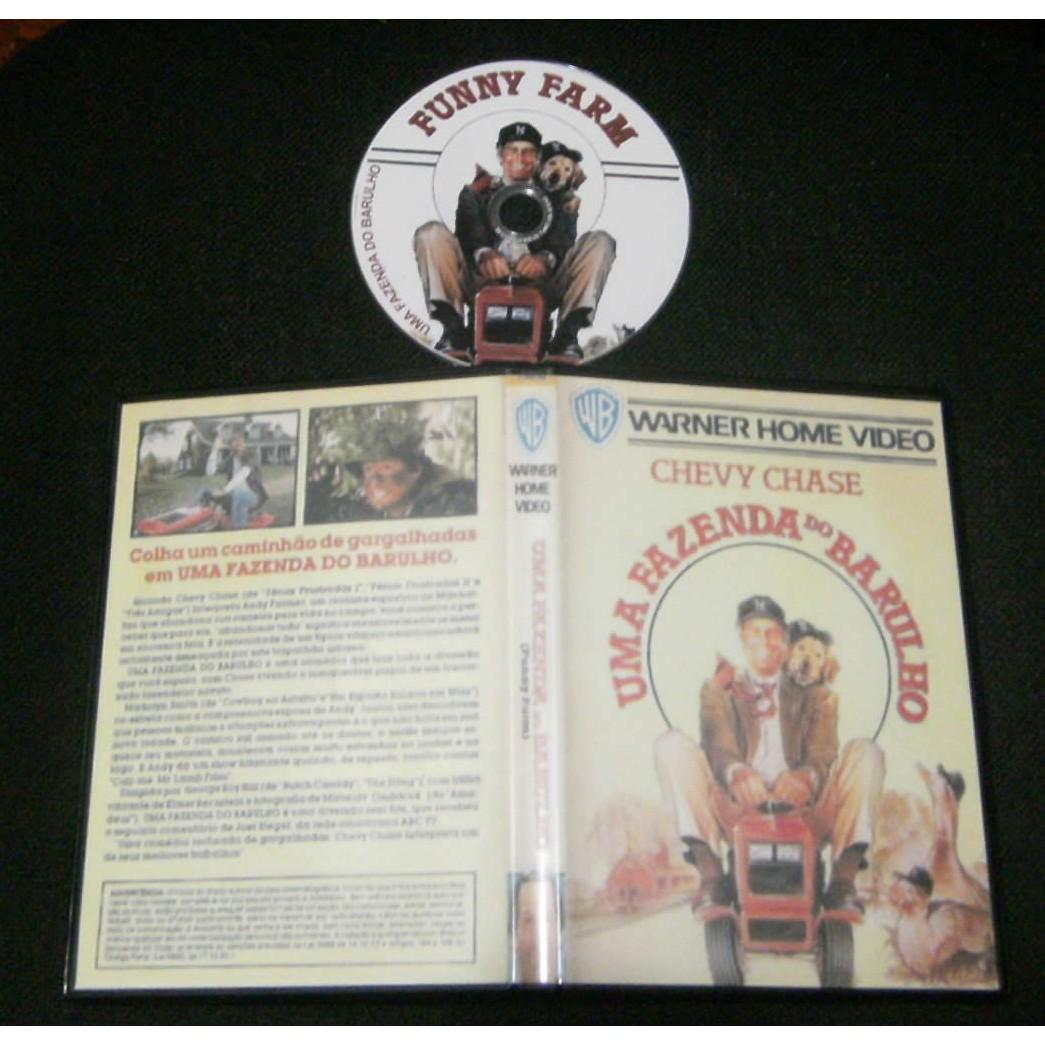 Uma Fazenda Do Barulho (Funny Farm) - 1988  - FILMES RAROS EM DVD