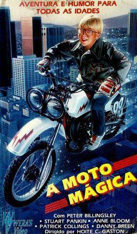 A Moto Mágica (1985)  - FILMES RAROS EM DVD