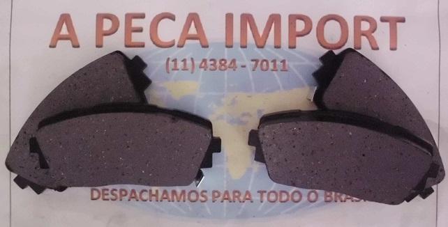 PASTILHA DE FREIO DIANTEIRA KIA PICANTO 2012...  - A PEÇA IMPORT