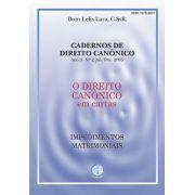 O Direito Canônico - Impedimentos Matrimoniais