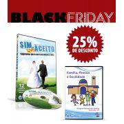 Kit - DVD SIM, ACEITO - Segredos para um casamento feliz + DVD Família, Pessoa e Sociedade