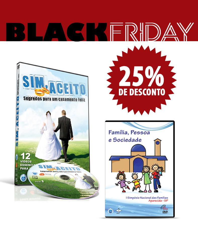 Kit - DVD SIM, ACEITO - Segredos para um casamento feliz + DVD Família, Pessoa e Sociedade  - Pastoral Familiar CNBB