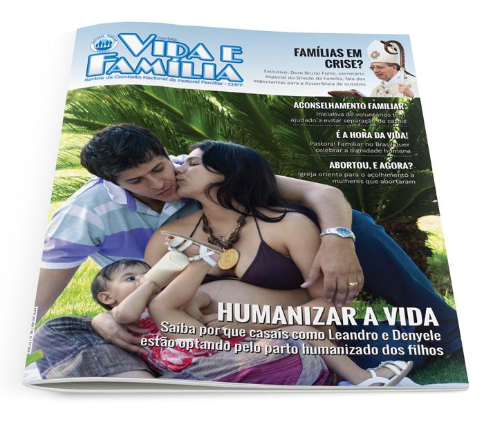 Revista Vida e Família (Assinatura anual)  - Pastoral Familiar CNBB
