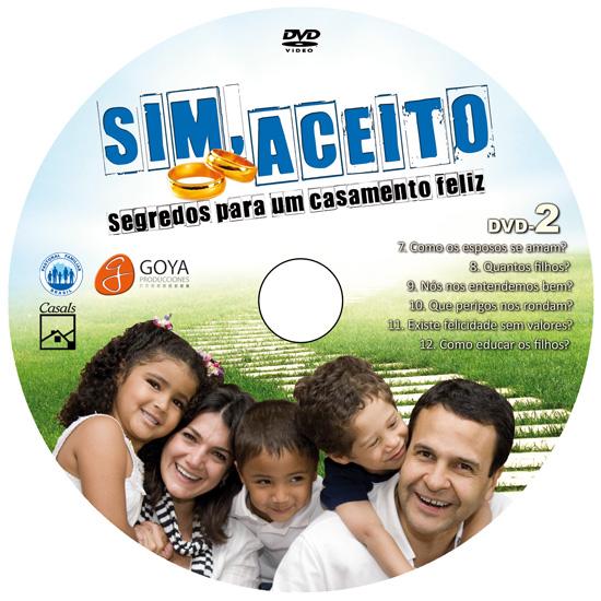 DVD - SIM, ACEITO - Segredos para um casamento feliz  - Pastoral Familiar CNBB