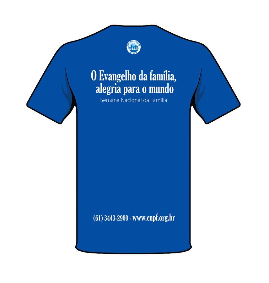 Camiseta Semana Nacional da Família 2018  - Pastoral Familiar CNBB