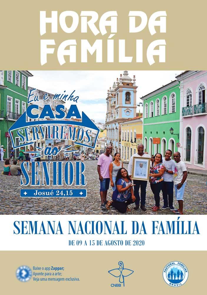 Hora da Família - Semana Nacional das Famílias 2020  - Pastoral Familiar CNBB