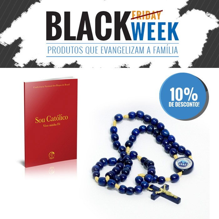 KIT 2 BLACK WEEK PASTORAL FAMILIAR  - Pastoral Familiar CNBB