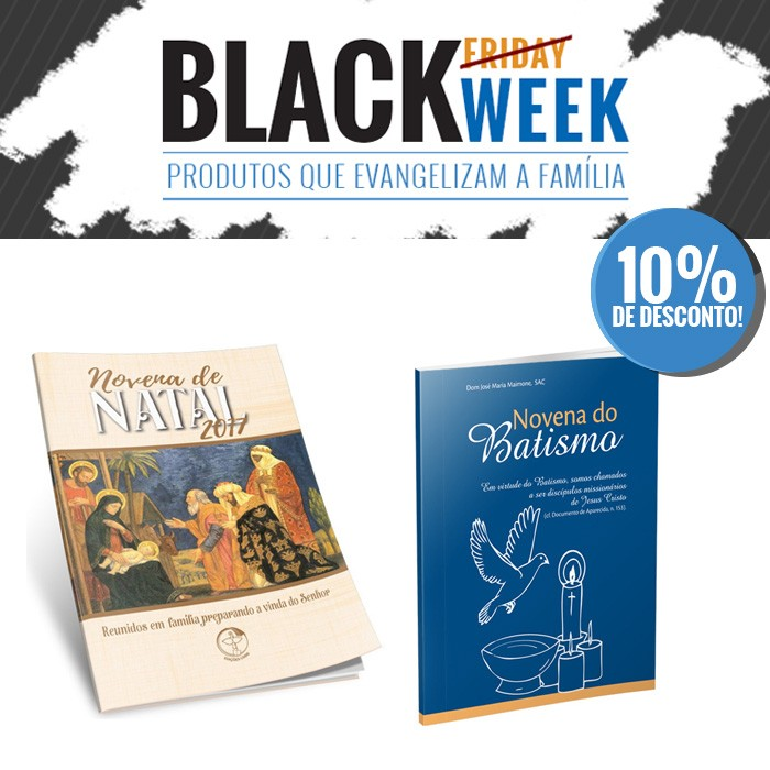 KIT 6 BLACK WEEK PASTORAL FAMILIAR  - Pastoral Familiar CNBB