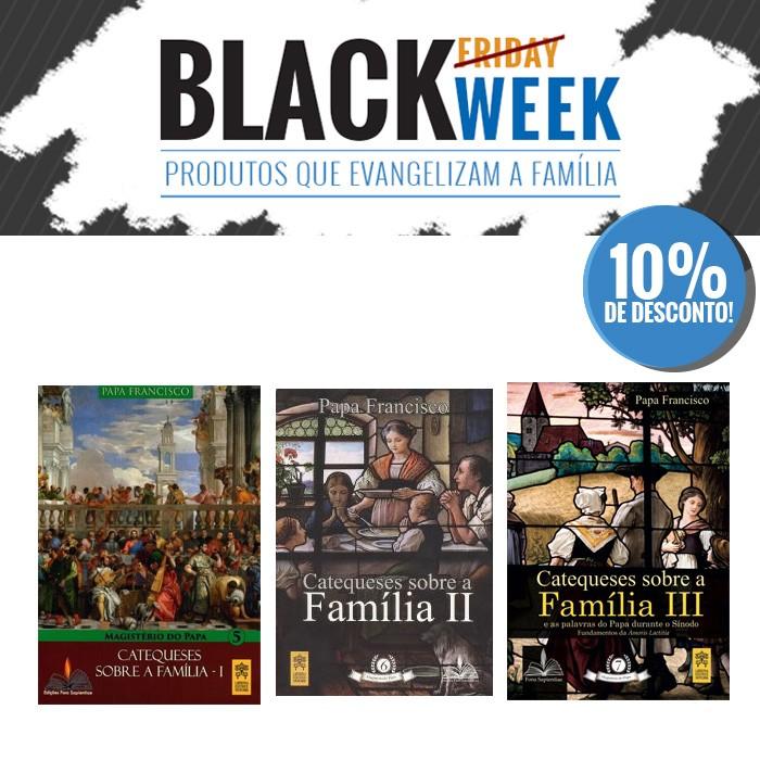 KIT 8 BLACK WEEK PASTORAL FAMILIAR  - Pastoral Familiar CNBB