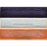 Forma Flexível - modelo Madeira Rústica (Dormente) 100 x 20cm x 2cm