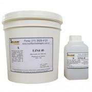 EZSil 40 Borracha de Silicone Cristal