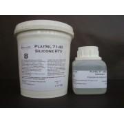 PlatSil 71-40 - Borracha de Silicone