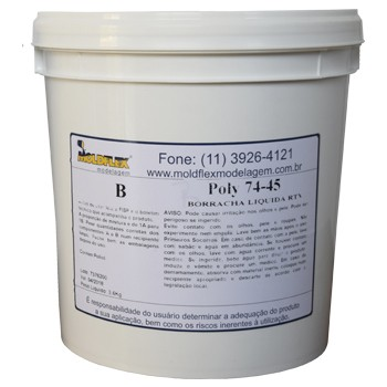 Poly 74-45 - Borracha de Poliuretano
