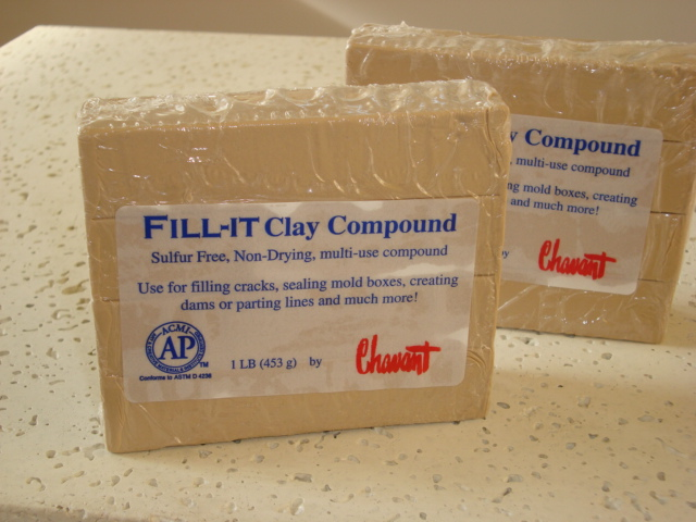 Fill-It Clay Compound - Plastilina Para Berço de Molde -  453g