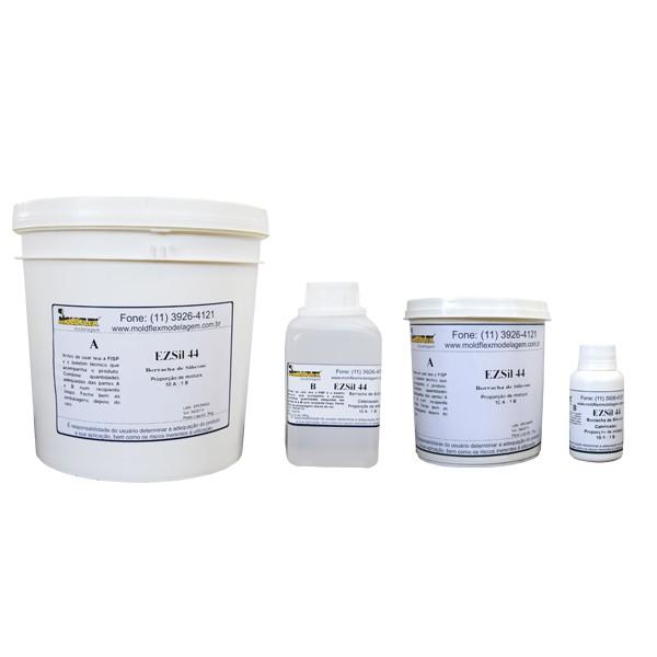 EZSil 44 - Borracha de Silicone Cristal