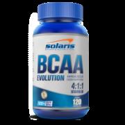 BCAA 1000 mg 4:1:1 SOLARIS 120 CÁPSULAS