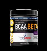 BCAA BETA 250 g EM PÓ SPORTS NUTRITION