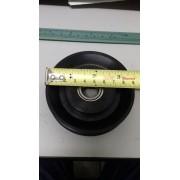 Roldana de plástico injetado com rolamento 87 mm