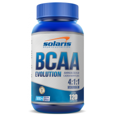 BCAA 1000 mg 4:1:1 SOLARIS 120 CÁPSULAS  - Orluz