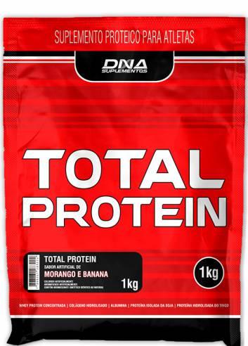 PROTEÍNA TOTAL PROTEIN DNA 1Kg EM REFIL.  - Orluz