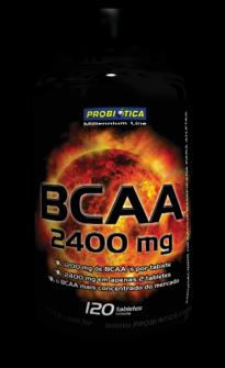 BCAA 2400mg PROBIÓTICA  - Orluz