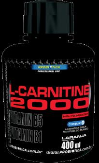 TERMOGÊNICO L CARNITINA 2000 400 ml PROBIÓTICA  - Orluz