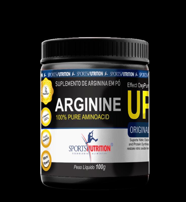 Arginina em pó ARGININE UP 100g  Sports Nutrition  - Orluz