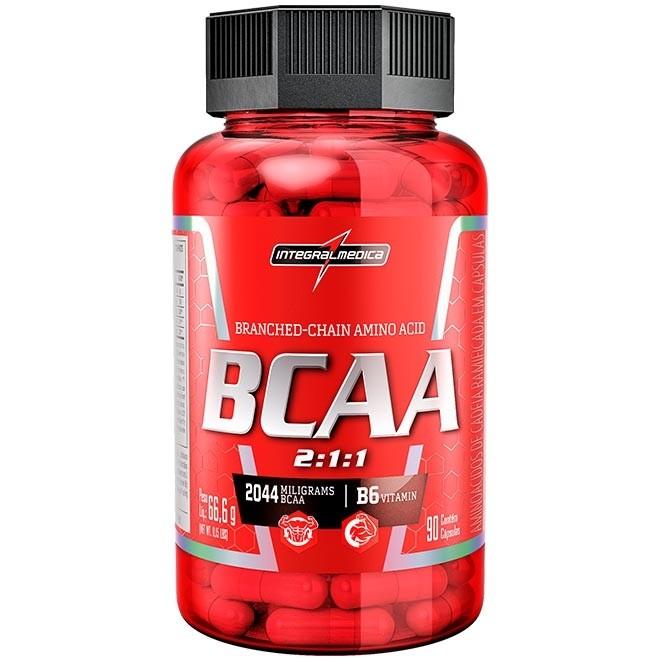 BCAA 2044 mg INTEGRALMÉDICA 90 CÁPSULAS.  - Orluz