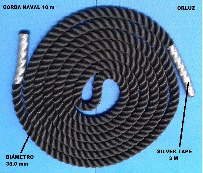 Corda Naval de 10 m Profissional Orluz  - Orluz
