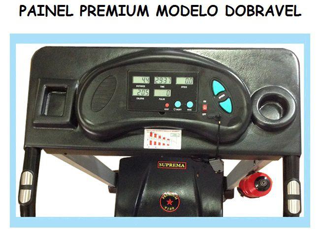 ESTEIRA ERGOMÉTRICA PROFISSIONAL PRM9100  - Orluz