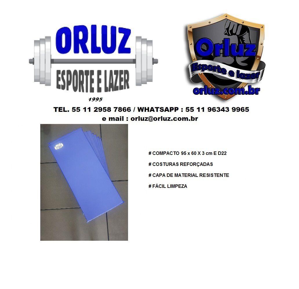 Kit 10 colchonetes 95 x 60 x 3 cm D22 profissionais  - Orluz