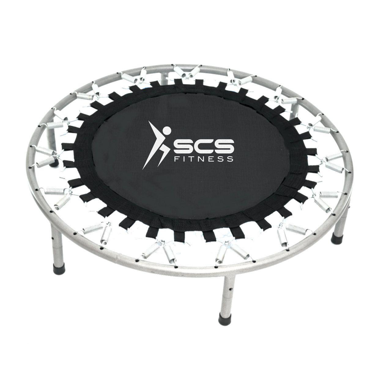 Mini jump trampolim residencial para 100 Kg com molas  - Orluz