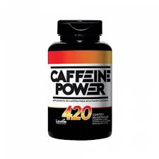 TERMOGÊNICO CAFFEINE POWER 420 LAVITTE 60 CÁPS  - Orluz