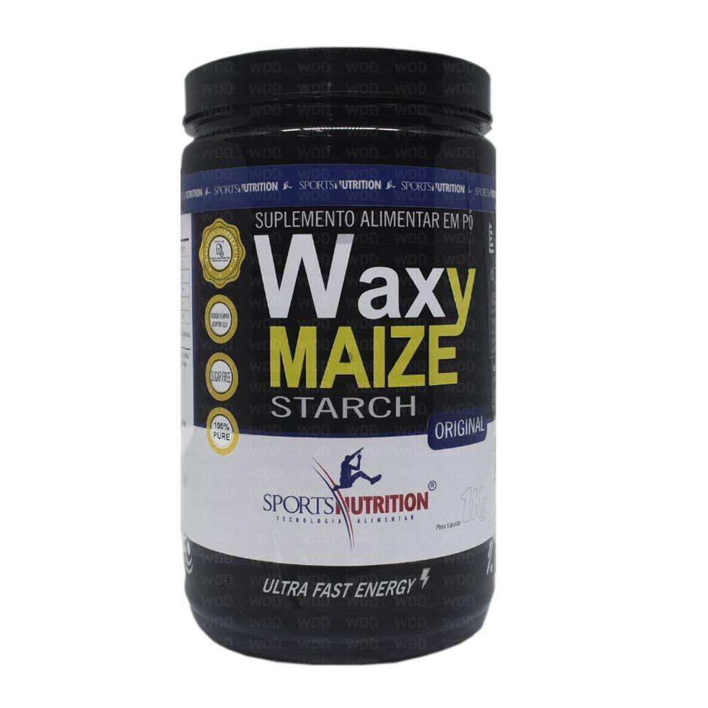 WAXY MAIZE ORIGINAL SPORTS NUTRITION 1 Kg  - Orluz
