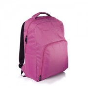 MOCHILA COLLEGE PARA NOTEBOOK ´15 MULTILASER ROSA BO318