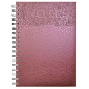 CADERNO MÉDIO EXECUTIVE NOTES MODELO 625 CAPA METALLO MARCA POMBO