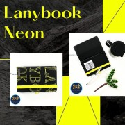 Caderneta Lanybook Neon