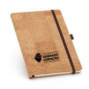 Caderno Personalizado Capa Dura em Cortiça