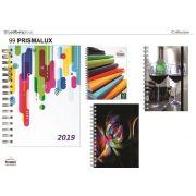 Caderno Personalizado Linha Executiva Pombo Capa Prismalux