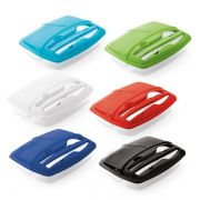Marmita Plastica Personalizada com Compartimentos
