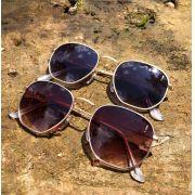 Óculos Hexagonal Degrade