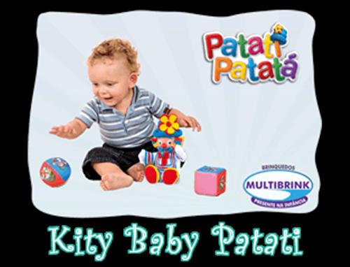 KIT BABY PATATI PATATÁ MULTIBRINK MODELO PATATI  - Empório das Variedades