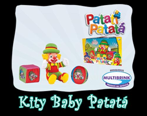 KIT BABY PATATI PATATÁ MULTIBRINK MODELO PATATÁ  - Empório das Variedades